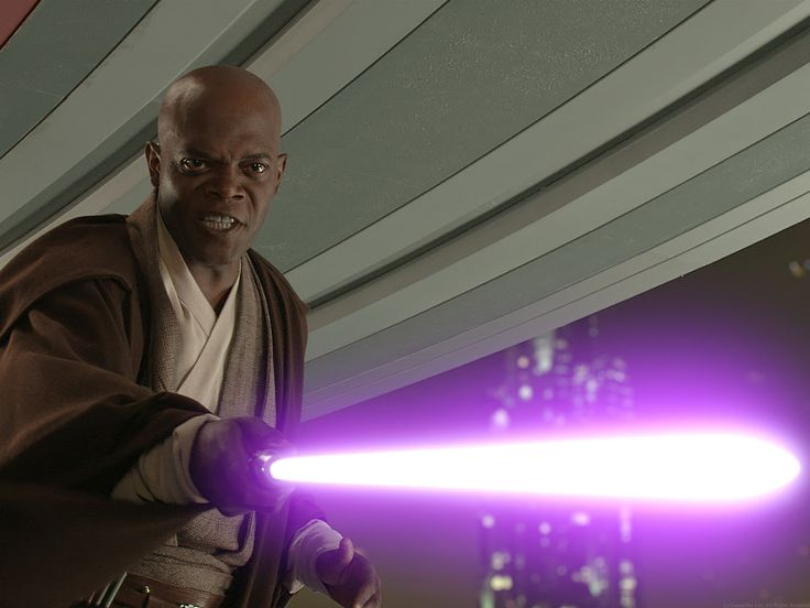 Mace Windu, Jedi Master.