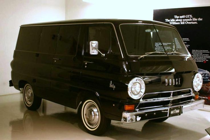1967 Dodge A100 van. On the lookout for one of these!