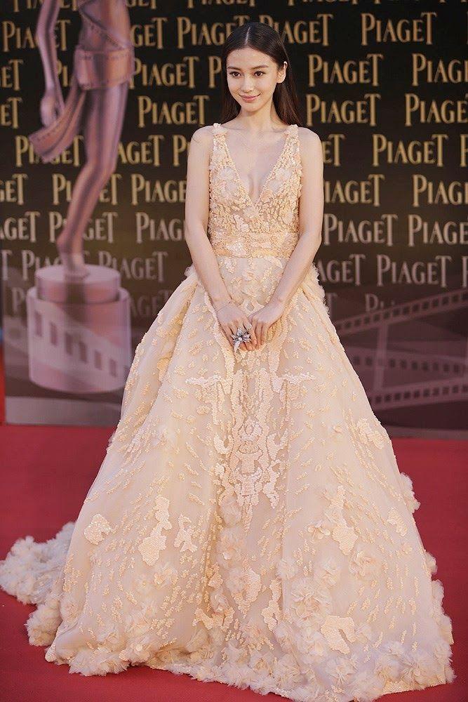 Hong Kong Actress And Model Angelababy Zuhair Murad