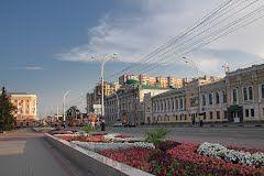 Цветы на улицах Тамбова