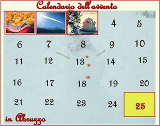 Queste pagine: Calendario dell'avvento - Giovedì 3 dicembre 215