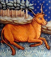 Taurus (♉) is the second astrological sign in the Zodiac, which spans the zodiac between the 30th and 59th degree of celestial longitude. In the Tropical zodiac, the Sun transits this area of the zodiac between April 20 to May 20 each year. In Sidereal astrology, the sun currently transits the constellation of Taurus from May 16th to June 15th (approximately). Individuals born during these dates, depending on which system of astrology they subscribe to, may be called Taureans.