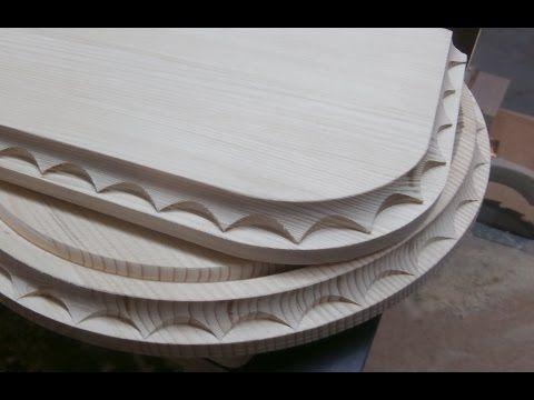 Нанесение декора на изделия из дерева. Часть 2. Milling decorating the tree. Part 2. - YouTube