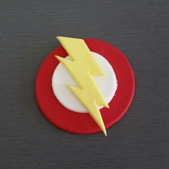 Flash Cupcake Topper and Cake topper