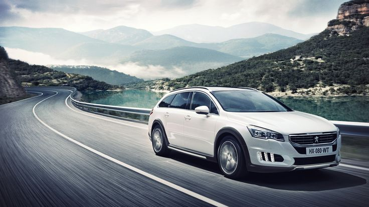 New #Peugeot #508RXH on the road