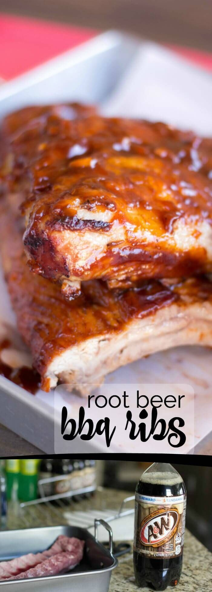 A&W Root Beer BBQ Ribs Recipe!