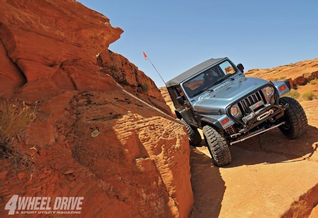 Read about this 1997 Jeep Wrangler TJ with a Dana 44 rear axle, a Warn Winch, and Goodyear tires, only on 4wdandsportutility.com, the official website of 4 Wheel Drive & Sport Utility Magazine.
