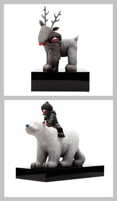 Here are two of my favourite Doug Hyde scultures and there is ONLY 1 LEFT for each of the pieces! How cute :)