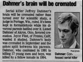 jeffrey dahmer and social control theory The serial killer jeffrey dahmer and aileen wuornas developed a theory that serial murders may be classified into four categories based on motive.