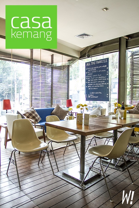 A nice blog about vintage-inspired Casa in Kemang ...http://www.wanderbites.com/2012/10/casa-kemang-home-away-from-home.html