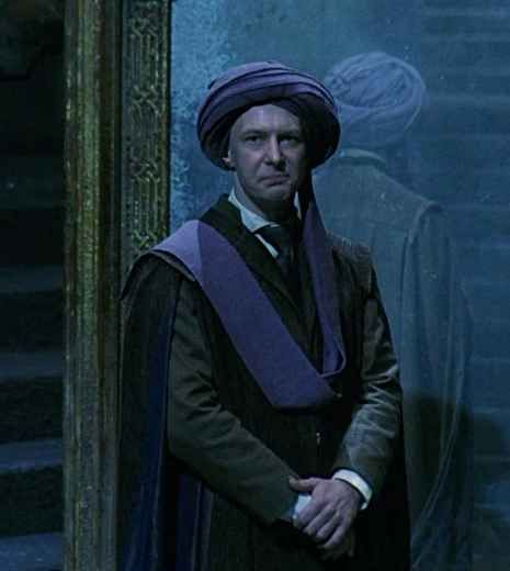 Quirrell takes a year off and encounters Voldemort