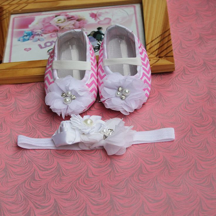 >> Click to Buy <<  Bow Tiara Rhinestone Newborn Baby Girl Shoes Headband Set, T-tied Soft Sole Toddler Infant .kids Rhinestone/Flower toddler boot #Affiliate