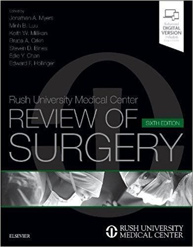 Study efficiently and effectively for high-stakes surgery exams with this superb review tool.Rush University Medical Center Review of Surgery, 6th Edition, has been thoroughly updated withnew questions and answers in all chapters, andcontent has been revised to reflect what is most important o...