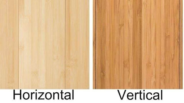 What S The Difference Between Horizontal And Vertical Bamboo