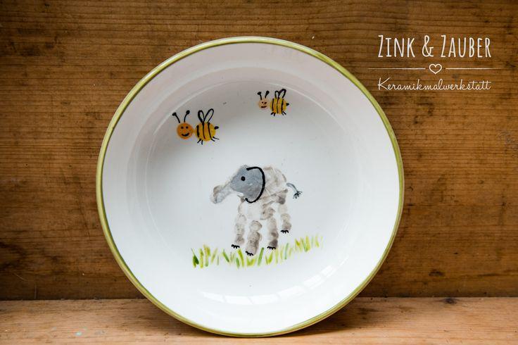 17 best images about zink und zauber keramik bemalen on pinterest fingerprints kid and originals. Black Bedroom Furniture Sets. Home Design Ideas