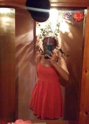 Kup mój przedmiot na #vintedpl http://www.vinted.pl/damska-odziez/krotkie-sukienki/15669062-rozowa-sukienka-hm-38