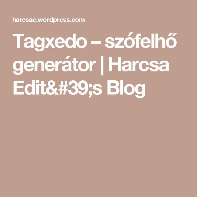Tagxedo – szófelhő generátor | Harcsa Edit's Blog