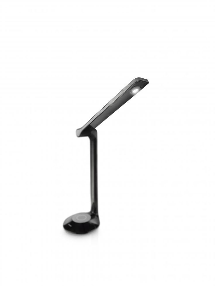 Lamina LED bordlampe Eyecare Philips Sort | Lampehuset