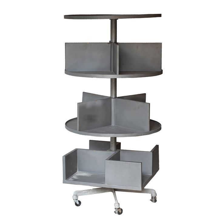 Swivel Shelves On Wheels