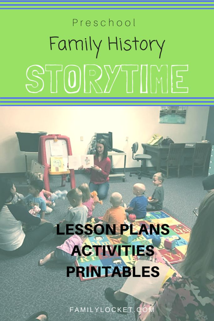 Family History Storytime – Preschool Books and Lesson Plans – Family Locket