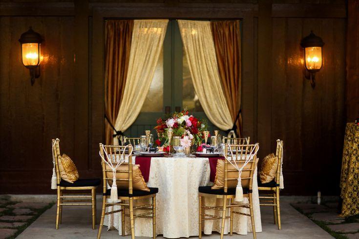 Equestrian Wedding Dreams for the Gold N' Glam