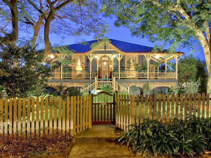 Australian Queenslander home