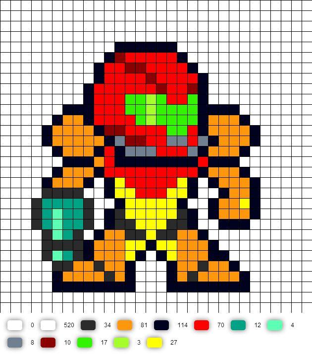 1000+ ideas about Pixel Art Templates on Pinterest ...