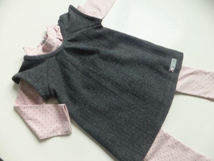 Robe Speedy Girl modifiée pour une robe d'hiver en lainage