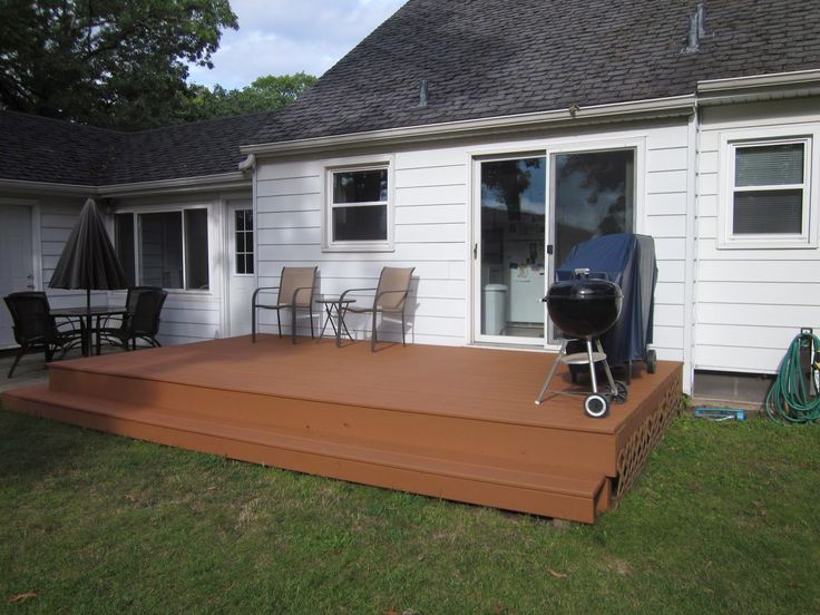 Staining Our Deck With Olympic Rescue It Yard Deck