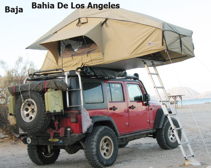 Jeep Wrangler Unlimited Custom Roof Top Tent My Oiiio