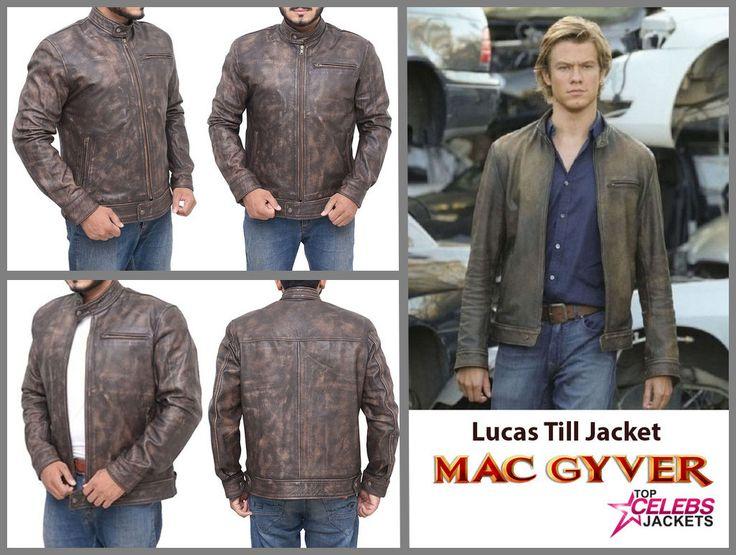 Lucas Till TV Series Macgyver Jacke