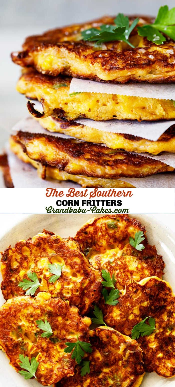 Simply made with fresh corn, flour, buttermilk, a bit of sugar and spice and a whole lot of love, these Corn Fritters fr…