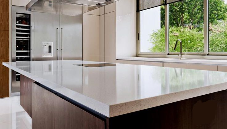 9141 ice snow island countertop cocinas pinterest for D kitchen andheri east