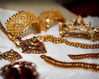 Jewelry for Lao ceremony