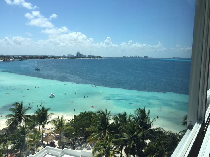 Dreams Sands Cancun Resort & Spa room view.