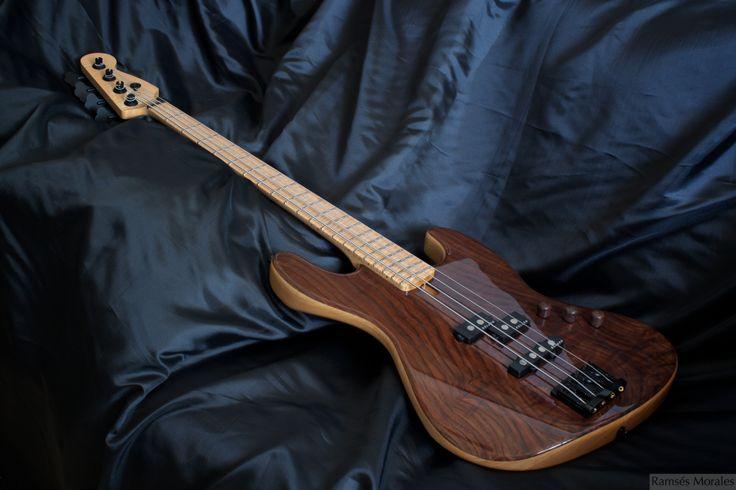 Ipe lapacho bass guitar