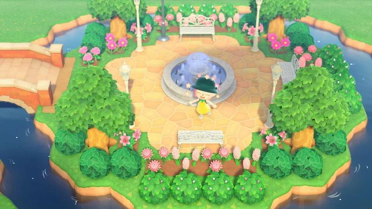 Pin on animal crossing new horizon landscape ideas
