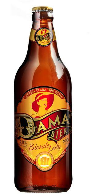 Cerveja Dama Blonde Lady - Cervejaria Dama Bier