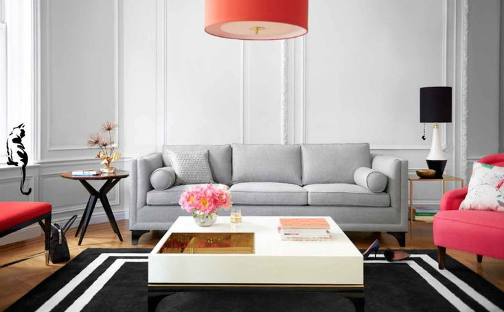 Rugs can help set the tone for an entire space. So we are sharing with you a few living room rugs and decorating ideas that will make your space stand out! | Modern Sofas. Living Room Ideas. Living Room Inspiration. Velvet Sofa. #rugs #modernsofas See also: http://modernsofas.eu/2016/05/12/living-room-rugs-make-modern-sofa-stand/