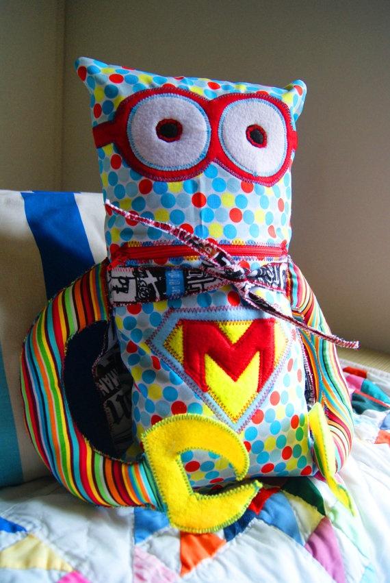 Create our own superhero stuffie!
