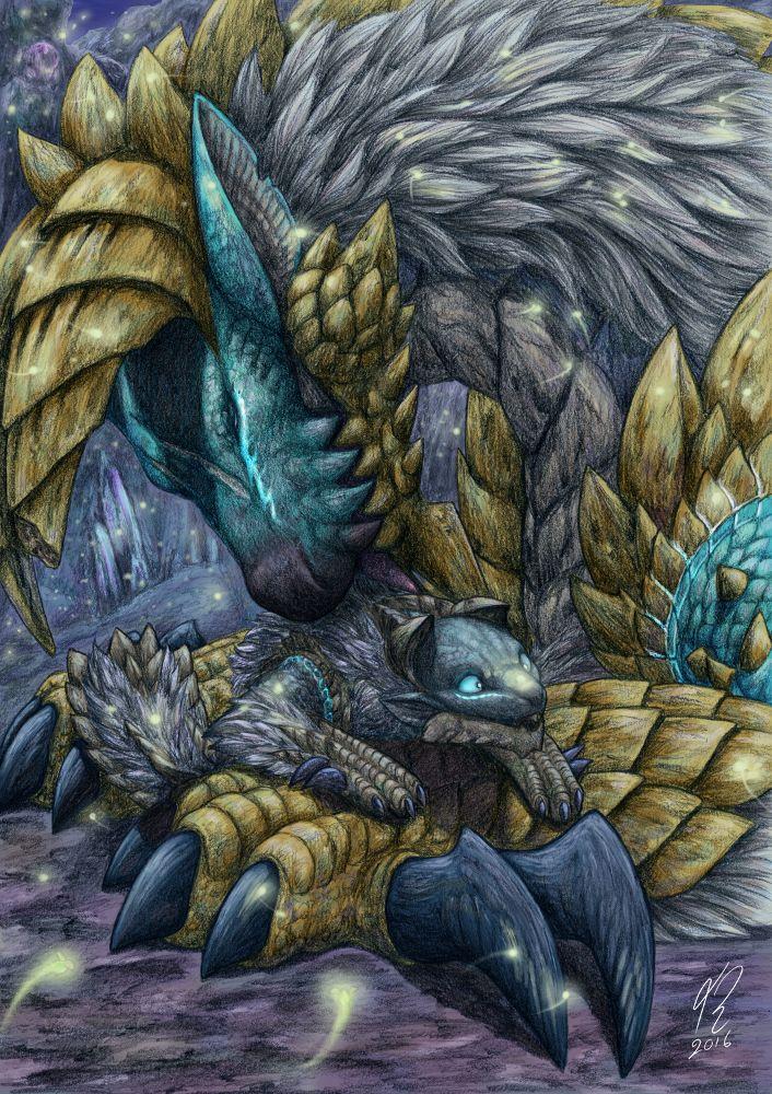 Sweet lights - Monster Hunter fan art by Amayensis on DeviantArt