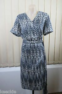 Size XL 16 Jane Lamerton Ladies Wrap Dress Business Office Work Cocktail Design | eBay