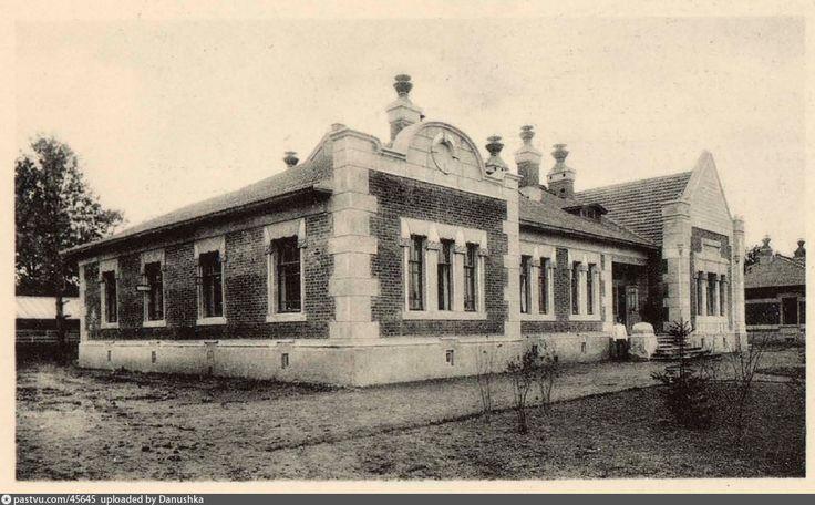 Дом для кондукторских бригад на станции Лихоборы