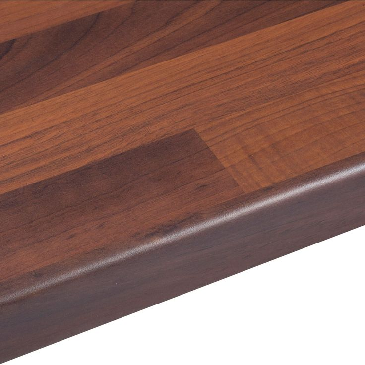 Amp Walnut Butchers Block Round Edge Kitchen Worktop Butcher Thick Wide Length Laminate