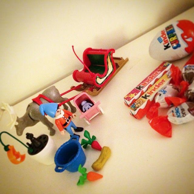 [CALENDRIER DE L'AVENT] 4 / 5 / 6 / 7 / 8 / 9 décembres 2014 #playmobil #kinder #adventcalendar