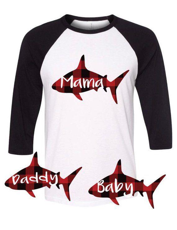 5edeb19a6e Mommy Shark Shirts Matching Family Christmas Pajamas for Mom Dad ...