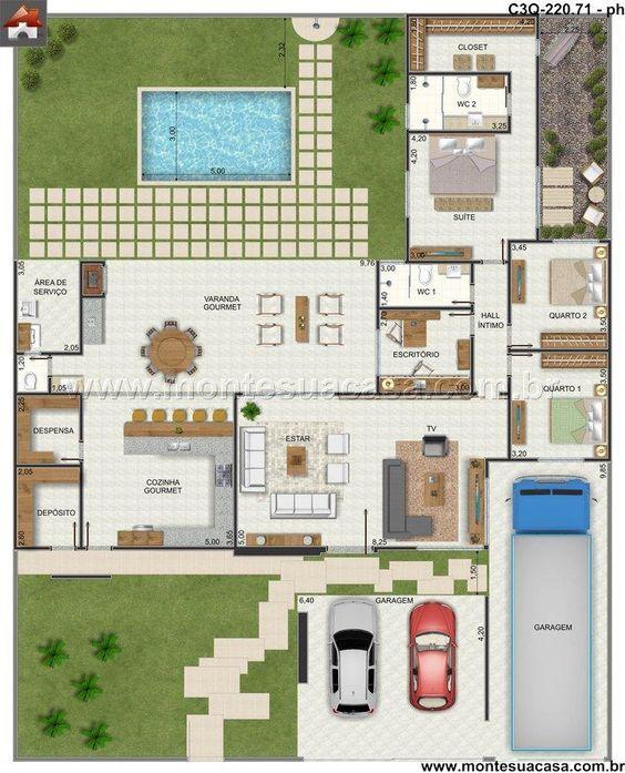 24 best Maisons images on Pinterest Cottage, Arquitetura and Floor - prix construction maison 150m2