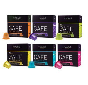 60 cápsulas de café gourmet Viaggio Espresso compatibles con Nespresso a un…