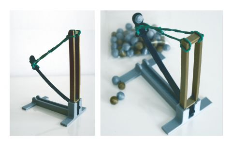 KATAPULTA #3d #3dprinting #domlab #domlabPL #catapult #toy