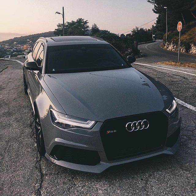 Good Morning✖️RS6! [ Owner @gmk001 ] [ Photo by @fipeux ] #carlifestyle #RS6 #audi